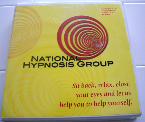 Stress Pak - Complete Audio Compact Disc Set (6 Pak) - NATIONAL HYPNOSIS GROUP (Self-Hypnosis, Sexual Enhancement, Stop Smoking, Stress Reduction, Improving Memory, Insomnia, Weight Loss, Exercise, Good Health, & Etc.)