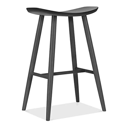 Swell Cult Furniture Hatton Wooden Bar Stool Dark Grey 72Cm Ocoug Best Dining Table And Chair Ideas Images Ocougorg