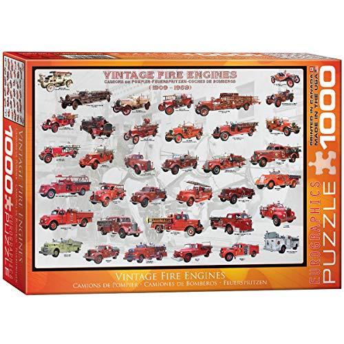 (EuroGraphics Vintage Fire Engines 1000 Piece Puzzle)