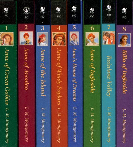 Anne of Green Gables, Complete 8-Book Box Set: Anne of Green Gables; Anne of the Island; Anne of Avonlea; Anne of Windy Poplar; Anne's House of ... Ingleside; Rainbow Valley; Rilla of Ingleside by Starfire (Image #1)