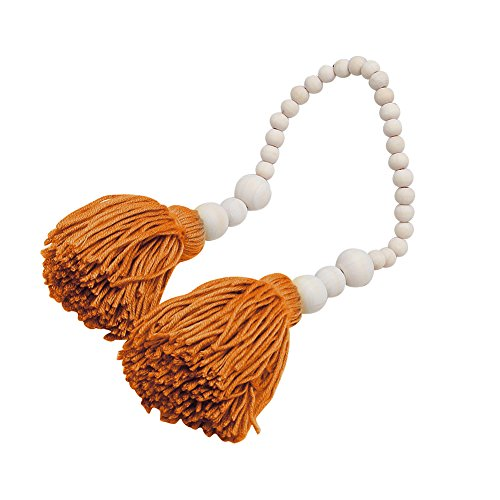 Little rock Wooden Bead Tassels Garland Banner for Wedding Baby Shower
