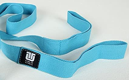Tune Up Fitness Stretch Strap, Great for Flexibility, Increased Mobility, Range of Motion, Injury Prevention and a Must for Runners, Cyclists, Yogis ...