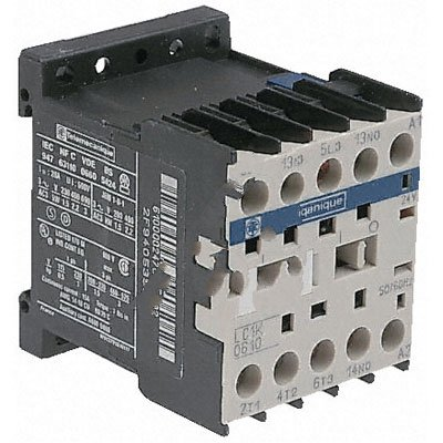 2.2kW 6A 1NC Aux Schneider Electric LC1K0601M7 220Vac 3 pole contactor