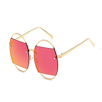 ZHAOSHUANN Gafas de sol Gafas De Sol Rojas Gafas De Sol ...