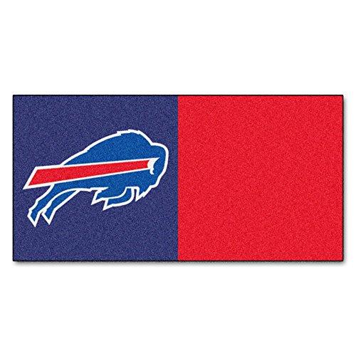 FANMATS NFL Buffalo Bills Nylon Face Team Carpet Tiles by Fanmats