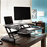 VARIDESK - Height-Adjustable Standing Desk - Pro Plus 36 - Black
