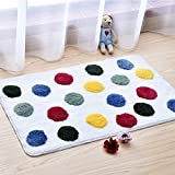 NonSlip Bath Mat Rugs Carpet Microfiber Washable Bathroom Floor Absorbent Shower