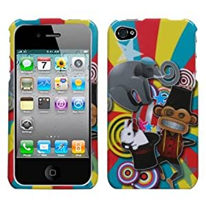 MYBAT IPHONE4HPCIM713NP Slim and Stylish Protective Case for iPhone 4 - 1 Pack - Retail Packaging - Circus
