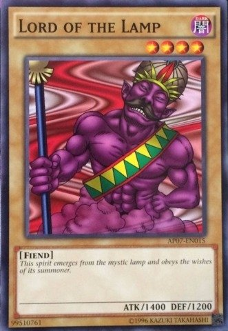 Yu-Gi-Oh! - Lord of the Lamp (AP07-EN015) - Astral Pack: Booster Seven - Unlimited Edition - Common Astral Lamp
