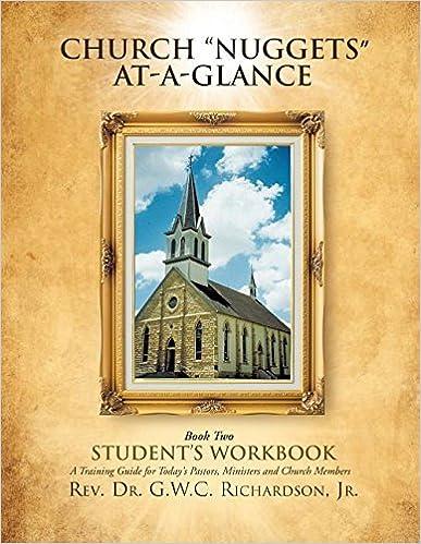 Book Church 'Nuggets' At-A-Glance