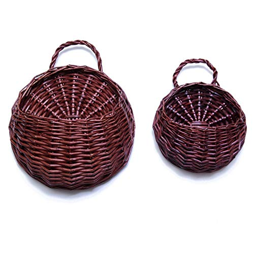 - KONVINIT Hanging Display Storage Baskets - Wall Hanging Units for Flowers, Fruits and Veggies, Decorations,1pcs