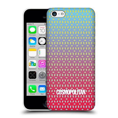 Official Cosmopolitan Ombre 7 Fun Summer Hard Back Case for Apple iPhone 5c