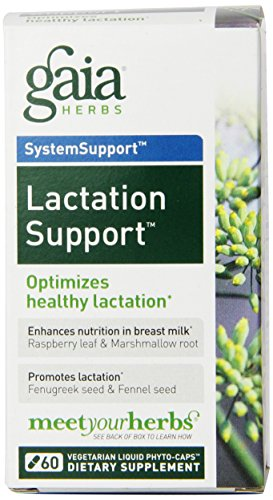 Gaia Herbs Lactate Support (Gaia Herbs Lactation Support Liquid Phyto-Capsules, 60 Count)