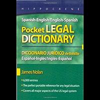 Spanish-English/English-Spanish Pocket Legal Dictionary (English Edition)
