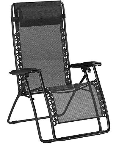 AmazonBasics Zero Gravity Chair – Black