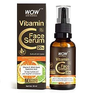 WOW Skin Science Vitamin C Serum – Skin Clearing Serum – Brightening, Anti-Aging Skin Repair, Supercharged Face Serum…