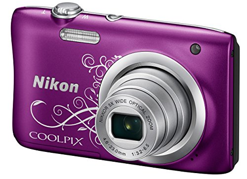 nikon-coolpix-a100-20mp-digital-camera-decorative-purple-international-model-no-warranty