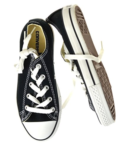 Converse Chuck Taylor All Star, Zapatillas de Lona Infantil negro