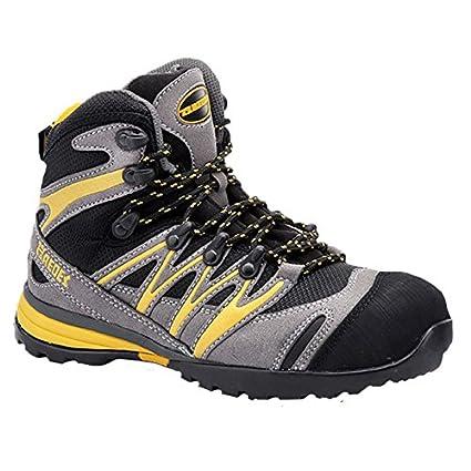 Paredes sp5028 Gr36 Hidrogeno – Zapatos de seguridad S1P talla 36 GRIS/NEGRO/AMARILLO