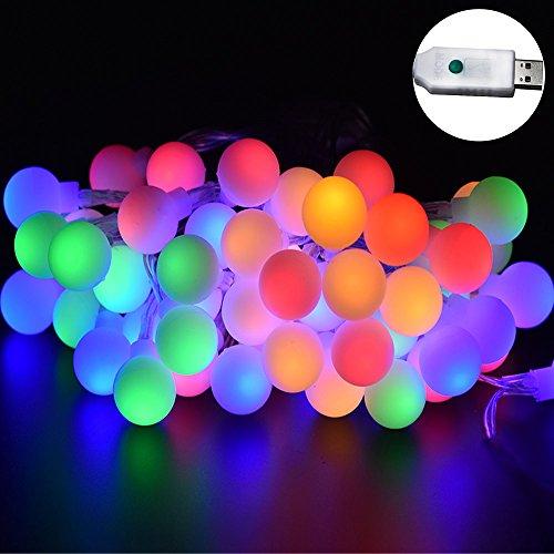 Led Rgb Ball String Light in Florida - 5