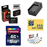 2 Extended Life Replacement Battery Packs For the Canon LP-E12 LPE12 2000MAH Each 4000MAH in Total For the Canon EOS M M2 Rebel SL1 100D DSLR Digital Camera   2 Batteries In Total + 1 hour AC/DC Rapid Battery Charger + 16GB Transcend High Speed Error Free SDHC Memory Card + Deluxe Lens Cleaning Kit + LCD Screen Protectors + Mini Tripod + 47stphoto Microfiber Cloth Photo Print !