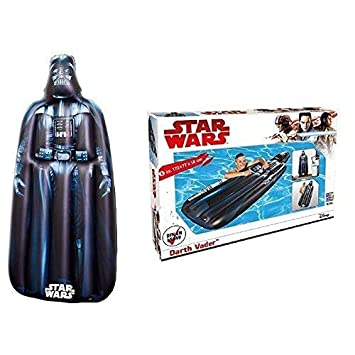 lively moments Star Wars Colchón de aire / Colchón FLOTADOR/tabla de surf / surfrider Darth Vader aprox. 173 x 77 x 18cm: Amazon.es: Juguetes y juegos