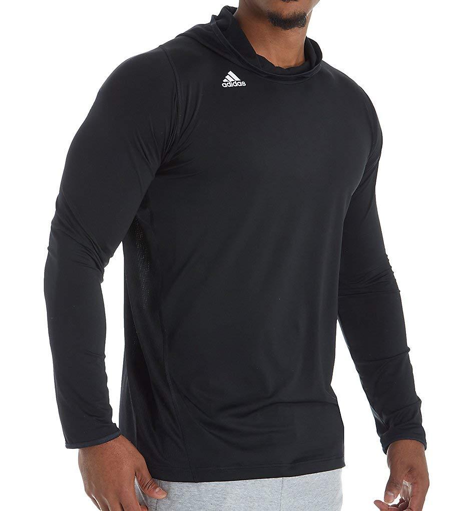 Black 3XL adidas Training Mossy Oak Long sleeve Hooded Top
