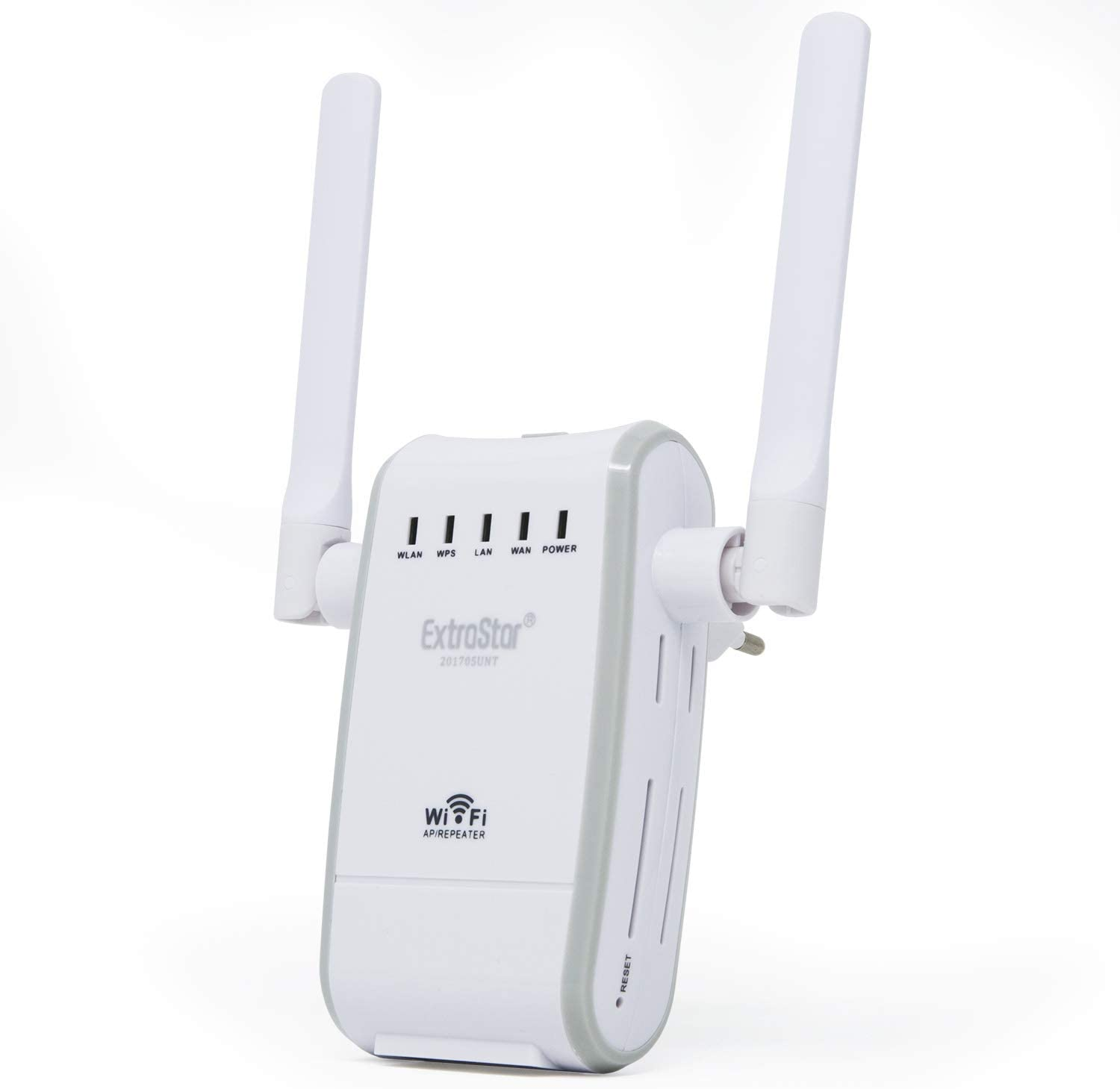 Extra Star WiFi Router Repetidor WiFi Dual Antena 300 Mbps con WPS wlan8454
