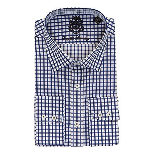 Price comparison product image English Laundry Men's 100% Cotton Classic Fit Long Sleeve Dress Shirt
