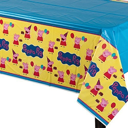 Peppa Pig Plastic Table Cover (1ct)]()