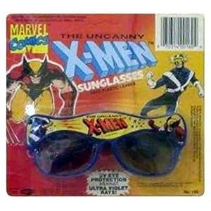 1991 MARVEL COMICS THE UNCANNY X-MEN WOLVERINE & CYCLOPS SUNGLASSES