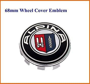 Pcslot Mm Wheel Center Cap Emblem Wheel Cover Hub By BMW Alpina - Bmw alpina accessories