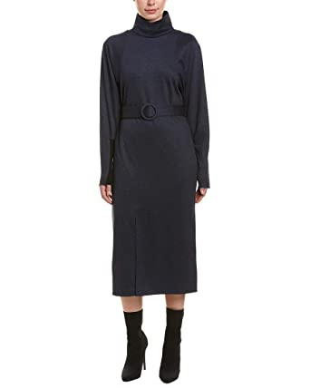 amazon com tibi womens calvary doman sweaterdress 4 blue clothing
