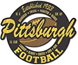 Pittsburgh Steelers Vintage Style Wood Cut Out