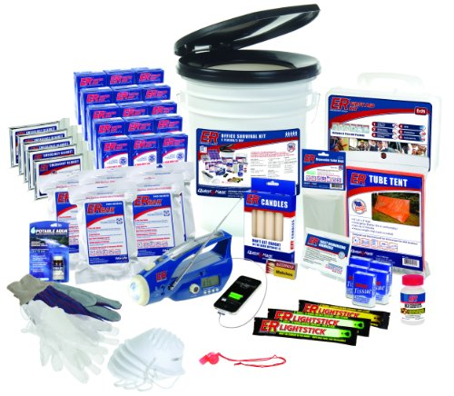 ER Emergency Ready SK5R 5 Person Ultimate Deluxe Survival Kit by ER Emergency Ready