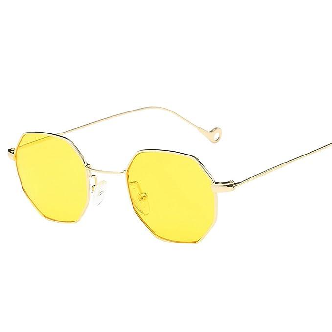 LuckyGirls_Gafas de Sol con Montura Marco de Irregularidad ...