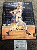 Ted Williams Signed Autographed Boston Redsox 16x20 Photo Green Diamond Ted Williams Foundation COA & Hologram