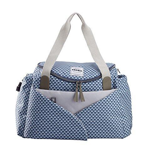 BEABA Sydney ll Play Print Changing Bag (Blue) by B?aba