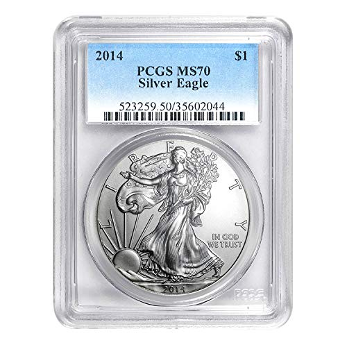 2014 American Silver Eagle ASE $1 MS-70 PCGS