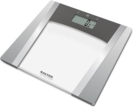 Salter Glass Analyser Digital Bathroom Scales Measure Weight Body Fat Percentage Water Bone Muscle Mass Bmi Bmr 10 User Memory Athlete Mode Sleek Design Easy Read Display 15 Year Guarantee Amazon Co Uk