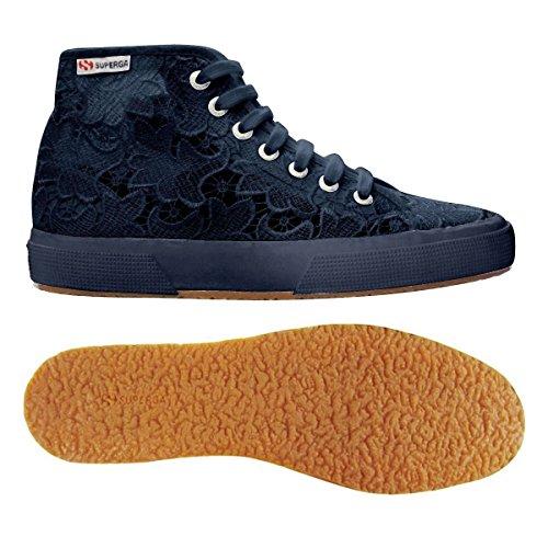 Mujer zapatillas de deporte SUPERGA baja S008B00 negro 2750 FABRICW VANIDAD Navy