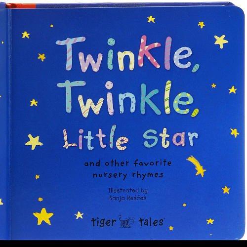 Twinkle, Twinkle, Little Star Board Book, Dimensions: 8'H x 8'W