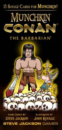 Munchkin Conan The Barbarian by Steve Jackson Games
