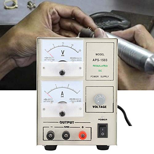 5A Multi-Function Electroplating Metallurgy Machine, Jewellery Gold Plating/Silver Plating Tool, Rapid Cooling And Cooling, Clear Voltage And Current Display, Repair Surface(US)