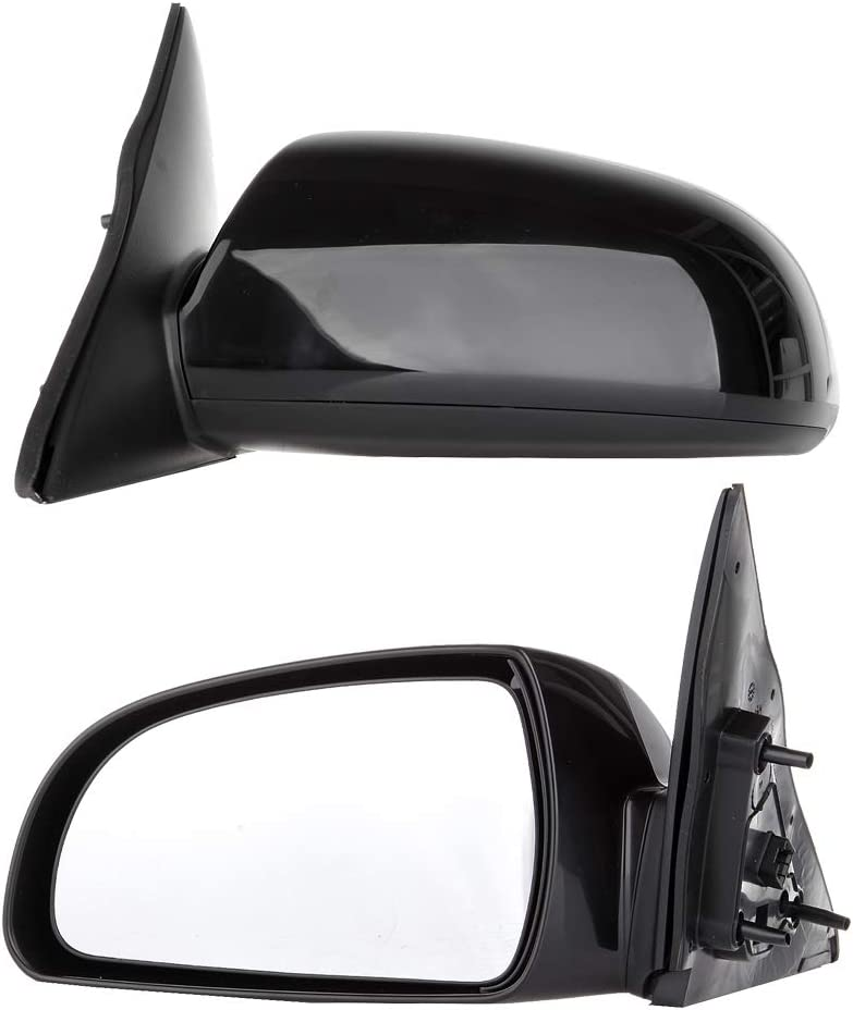 OCPTY Left Side Rear View Mirrors Non-Fold Heated Power Adjustment Fit for 2006 2007 2008 2009 2010 Hyundai Sonata