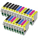 20 Compatible Ink Cartridges for Epson T0715