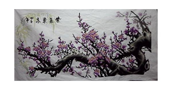 AIGUFENG versión este púrpura a grande de regalos terminados a mano puros pinturas caseras para compartir,11CT: Amazon.es: Hogar