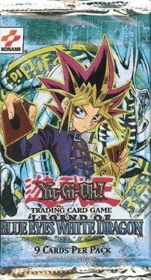 YuGiOh Legend of Blue Eyes White Dragon 24 Count Booster Pack Box Lot [Toy] (Booster White Box Dragon)