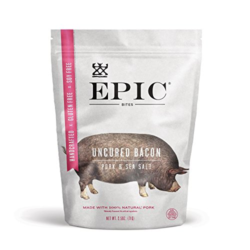 Epic Bites Bacon, 2.5 Ounce