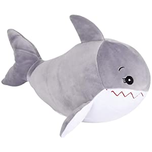 "ArtCreativity Softies Shay The Shark | 14"" Plush Stuffed Animal 